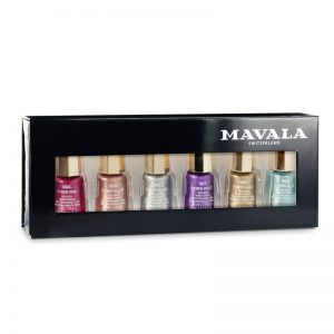 MAVALA Six piece Gift Set – Cyber Chrome Collection