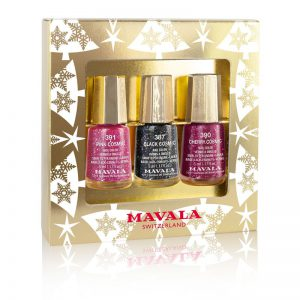MAVALA Gold Trio of Colour – Cosmic Sparkle