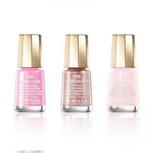 MAVALA Silver Trio of Colour – Shimmer Pink