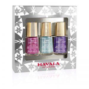 MAVALA Silver Trio of Colour– Pastel Metallics