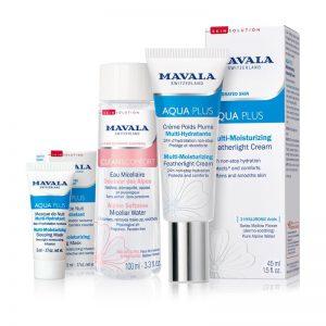 MAVALA AQUA PLUS Multi-Moisturising Soothing Skincare Gift Set