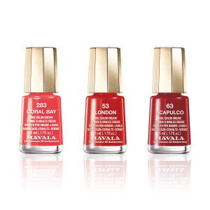 MAVALA Trio of Colour – Reds